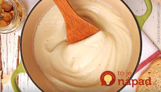 Bez masla, smotany či múky: Ľahká krémová omáčka na cestoviny
