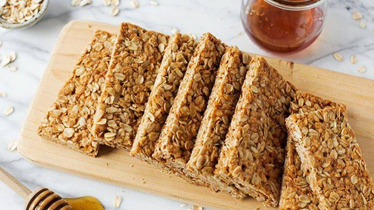 This DIY-version of classic Nature Valley granola bars is packed with simple, wholesome ingredients like old-fashioned oats and honey.