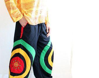 Harem broek  groene Aladdin broeken  Harem broeken  Yoga