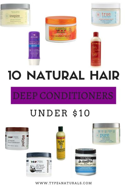 10 Natural Hair Deep Conditioners Under $10