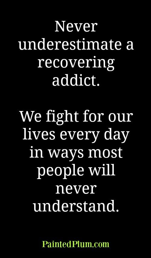 Fight for your life quote about sobriety recovery alcoholism addiction