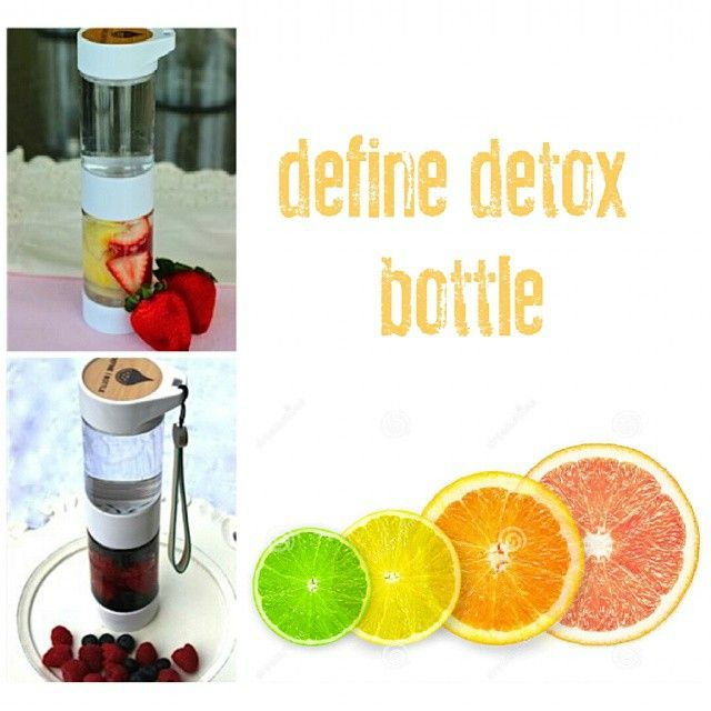 Have you got your Define Detox bottle yet? It\'s the perfect accessory to your detox plan!