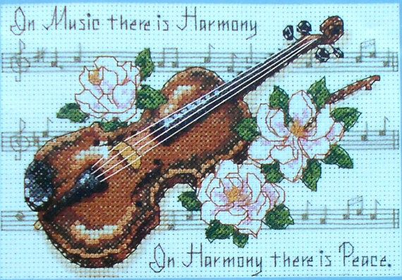 In music there is harmony;  In harmony there is peace.