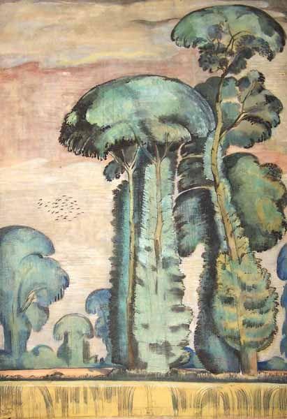 Paul Nash - The Elms, 1911-12