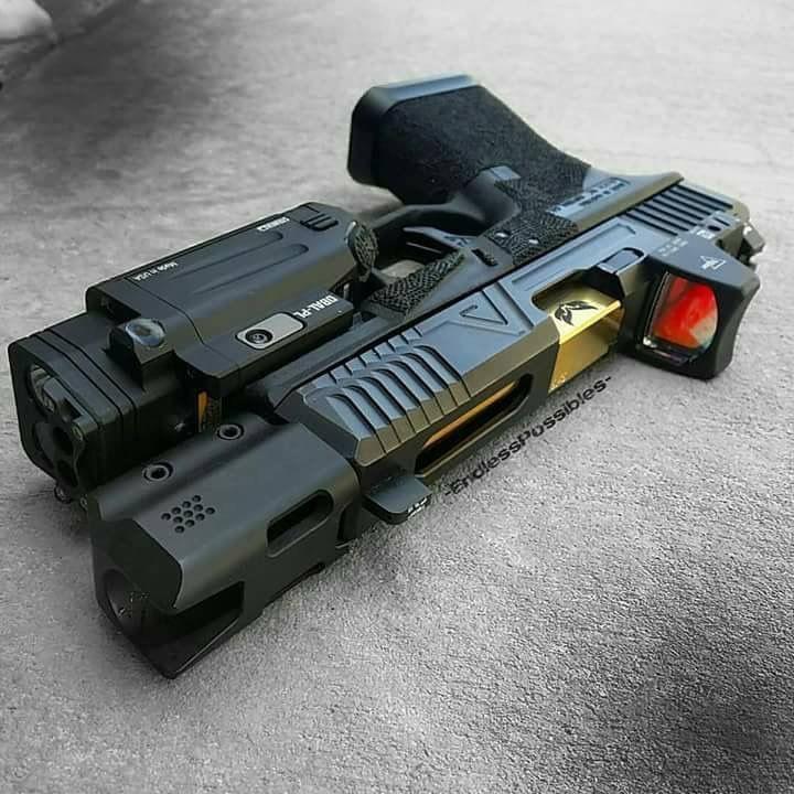 Glock with RMR