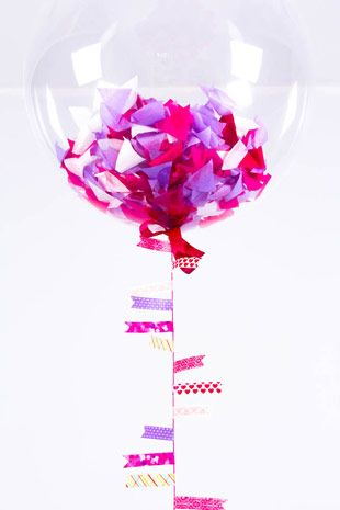 Balloons-Confetti-Filled-2 - Read more on One Fab Day: http://onefabday.com/wedding-balloon-ideas/