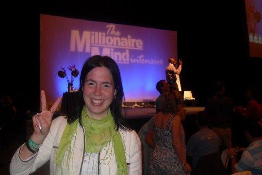 Celebrar éxitos. The Millionaire mind