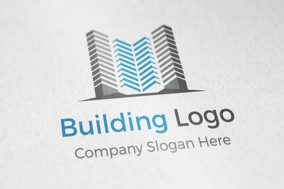 Archtiecture Building Logo by aykutfiliz on Creative Market