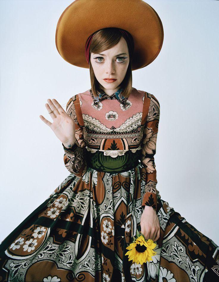 Emma Stone Photograph by Tim Walker; styled by Jacob K; W magazine February 2015.