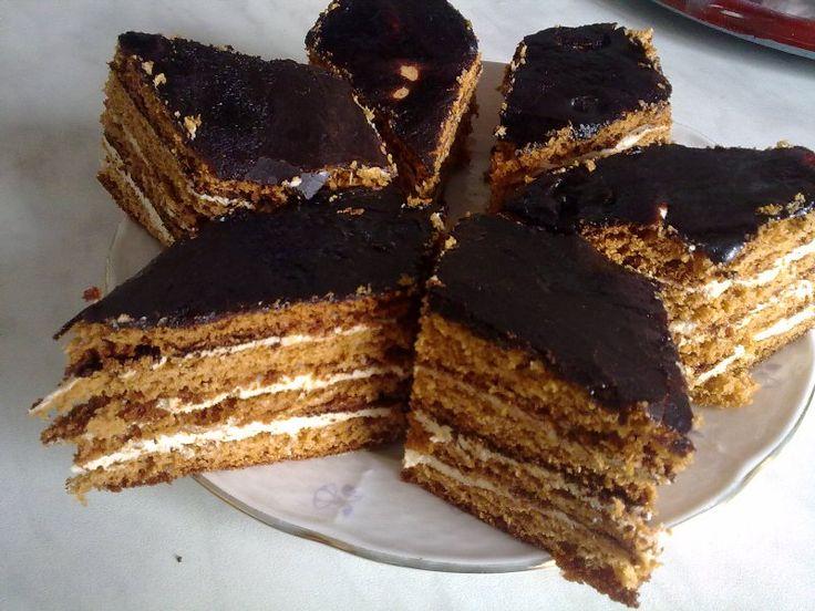 Bird's milk – Famous Georgian layer cake