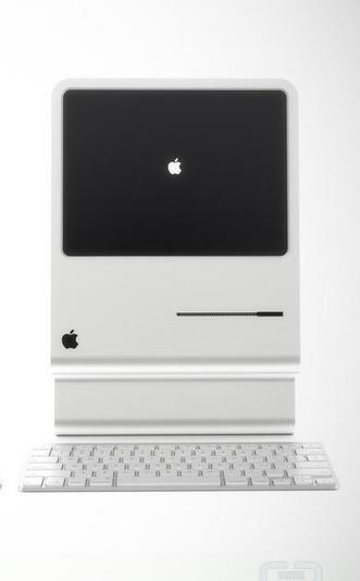 Love this retro iMac design.