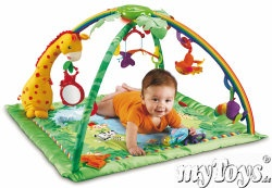 Fisher Price - Rainforest de luxe Activity Center