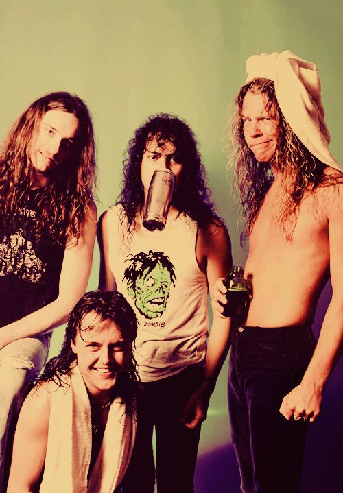 Lars Ulrich/Cliff Burton/Kirk Hammett/James Hetfield