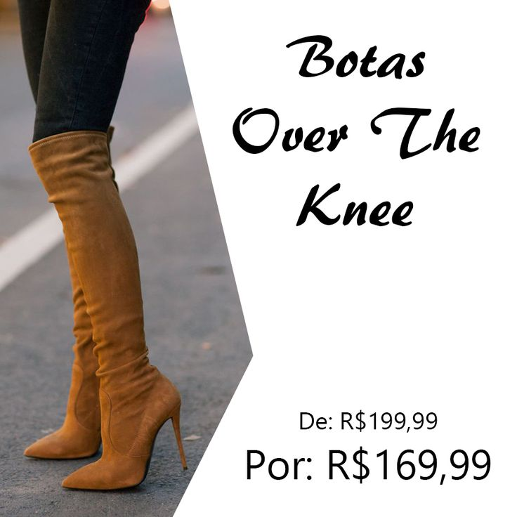 Só para lembrar meninas! Tem promo no site! Bota OTK de R$199,99 por R$169,99. Corre lá!!! #Botas #Promoção #LojaVirtual #OvertheKnee #Inverno #Inverno2016 #ooth16 #lojaMariaCarolina #VendaOnline #Sapatos #Liquidação