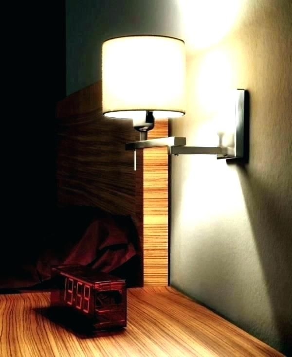 Wall Mounted Bed Lamps Bedroom Reading Lights For Lamp