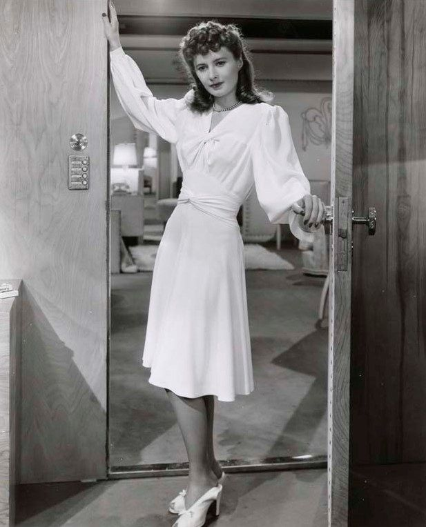 Edith Head was the costume designer for 12 of Barbara Stanwyck's movies, including: The Lady Eve, 1941
