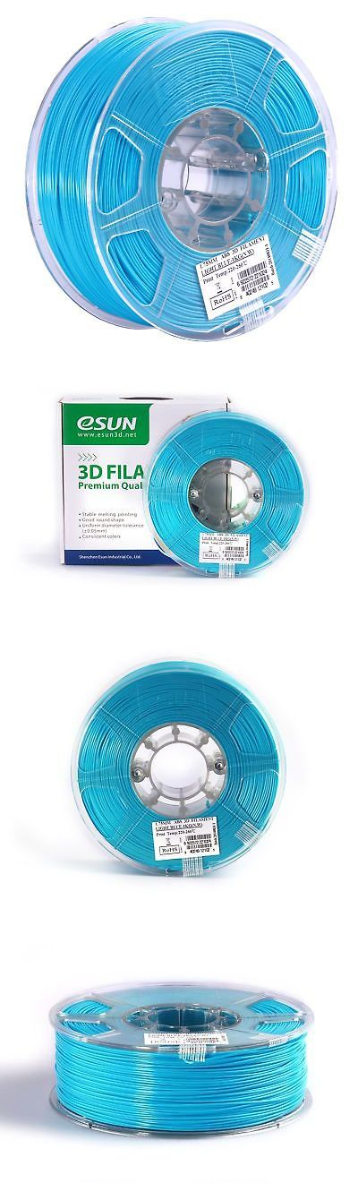 Other Crafts 75576: Esun 1.75Mm Light Blue Abs+ 3D Printer Filament 1Kg Spool (2.2Lbs) Light Blue -> BUY IT NOW ONLY: $32.65 on eBay!