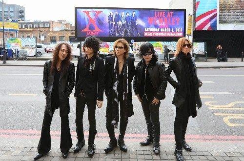 X JAPAN 英国ウェンブリー・アリーナ公演を大成功に収める