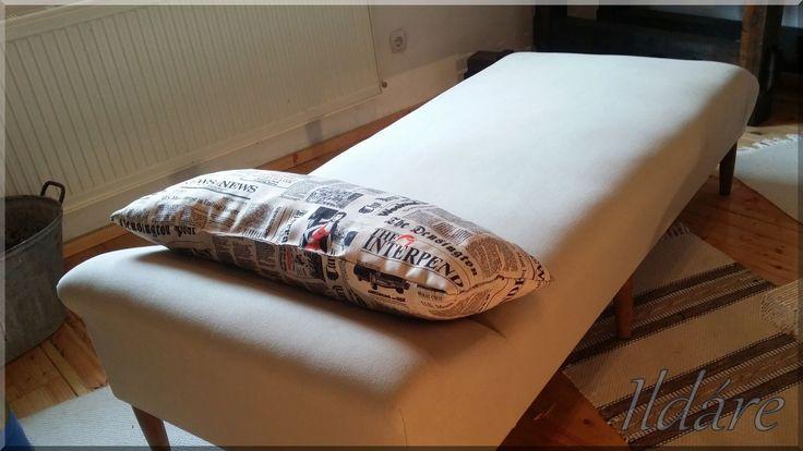 Felújított antik ágy