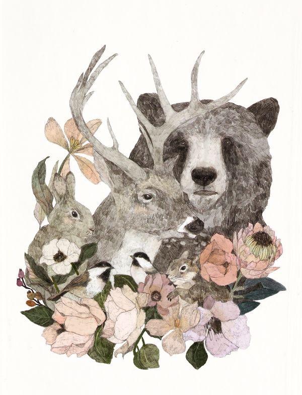 En el bosque by Daniela Dahf Henríquez @danieladahf