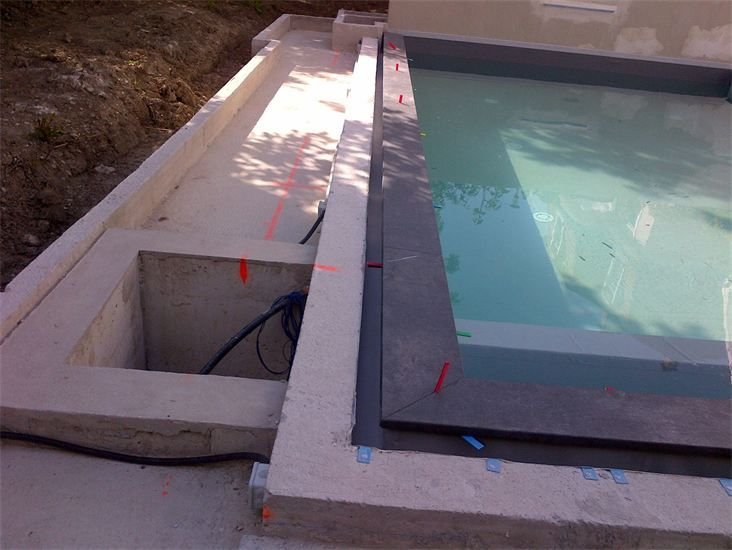 17 best images about piscine miroir on pinterest for Piscine miroir filtration
