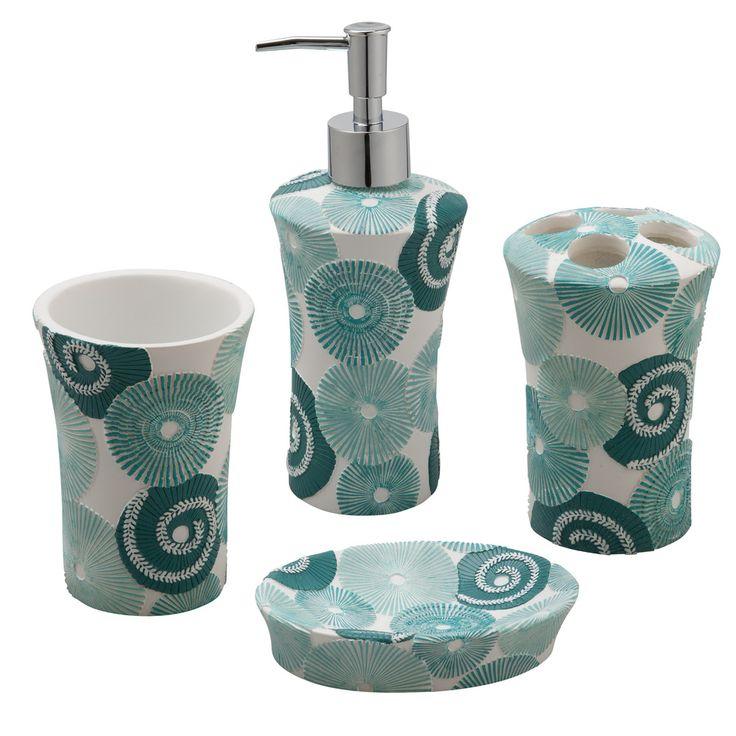 jovi home parasols bath accessory 4piece set shopping the