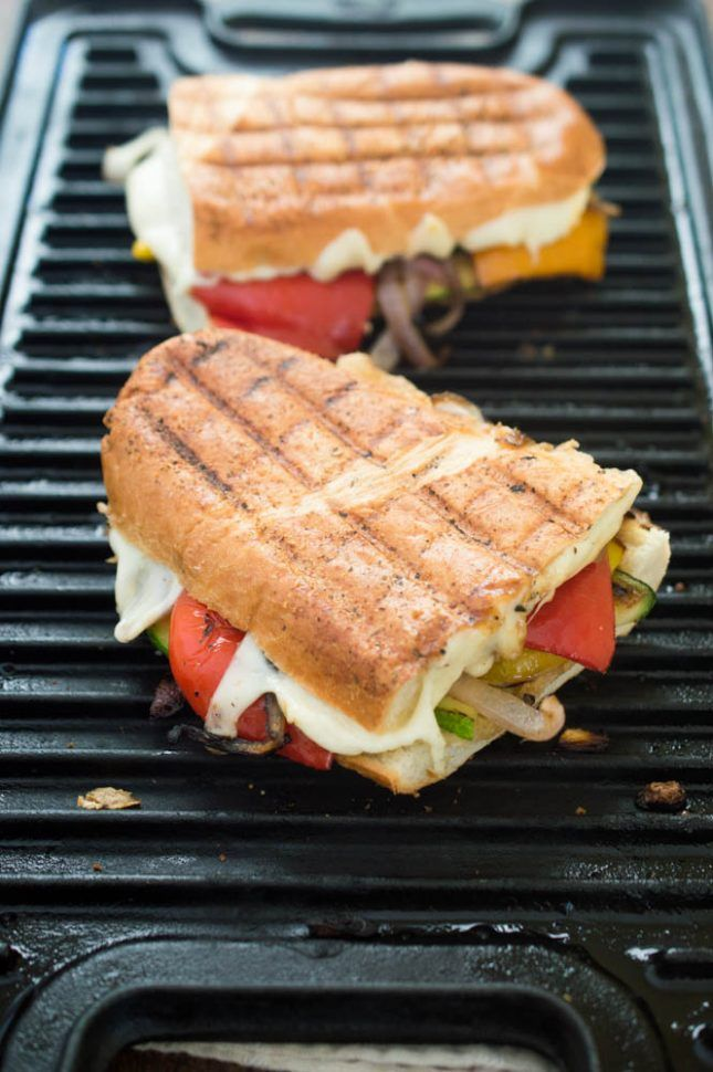 12 Veggie Panini That Will Send You Straight to Sandwich Heaven on Meatless Monday | Brit + Co