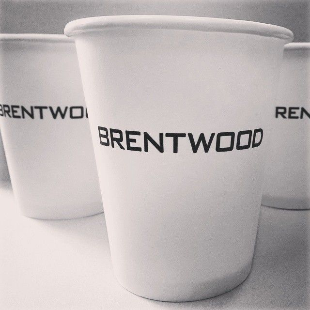 8oz custom printed paper coffee cups are a great way for property managers and real estate agents to make their clients feel like they're getting the royal treatment. #marketing #realestate #property #custom #b&w #blackandwhite #chic #canada #canadian #vancouver #bc #burnaby #shapeproperties #brentwood