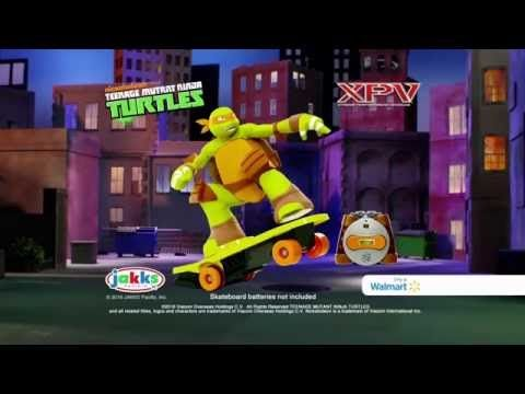 Teenage Mutant Ninja Turtles Skateboarding Mikey - http://www.bestofchristmastoys.com/teenage-mutant-ninja-turtles-skateboarding-mikey/
