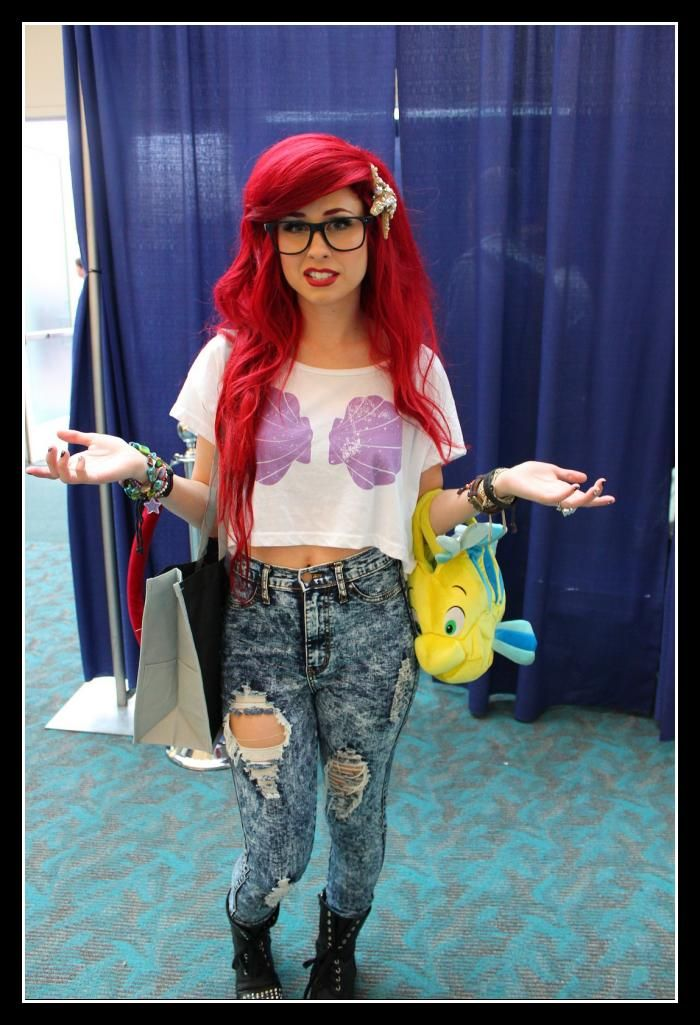 hipster ariel costume - Hipster Halloween Ideas