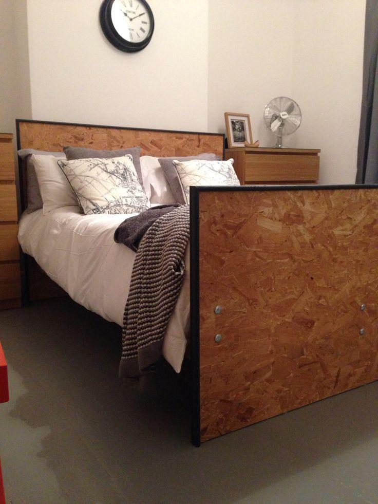 Handmade Osb Bed Frame House Pinterest Handmade