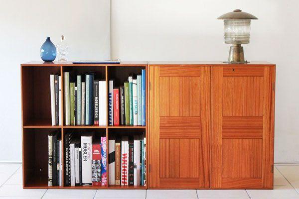 Bookcase & cabinet, Rud Rasmussen. Mogens Koch.