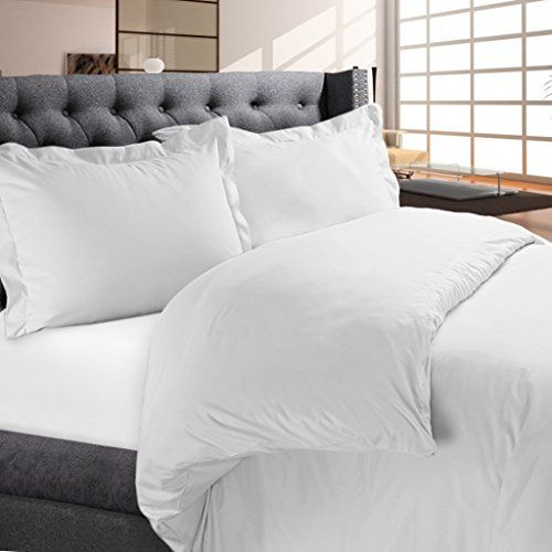 Luxury Duvet Cover Set 3 Pieces By Night Guard  Hotel Quality Lightweight Brushed Microfiber  1500 Thread Count Ultra Soft Luxurious Egyptian Quality  Premium Bedding Set FullQueen White >>> Want additional info? Click on the image.