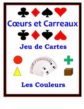French Vocabulary Activity for Small Groups: Colors