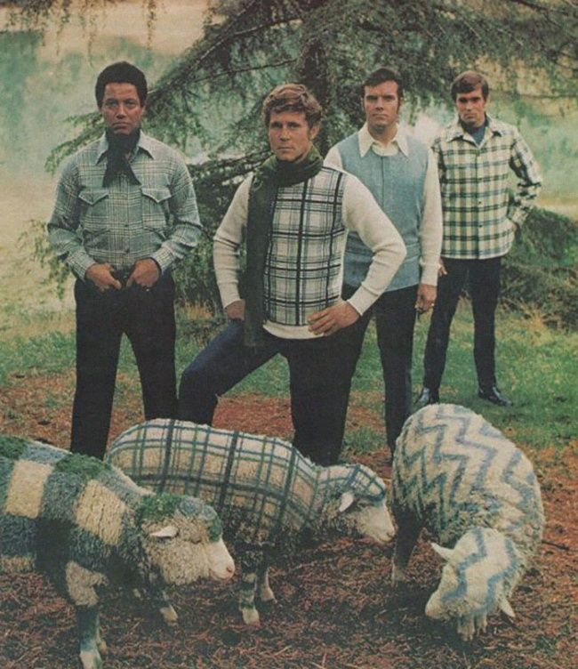 Moda masculina delos años 70que esimposible olvidar