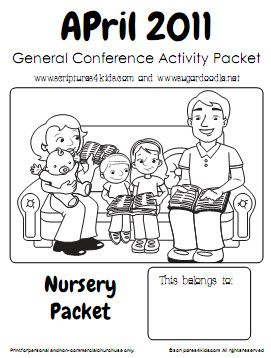 17 Best images about nursery-general conference on Pinterest ...