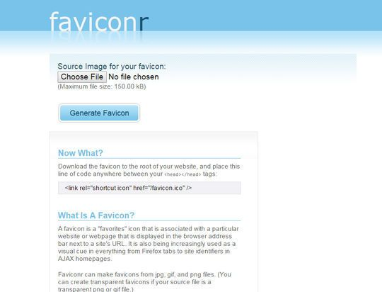 10 Free Favicon Generators for Web Designers | SmashingApps.com
