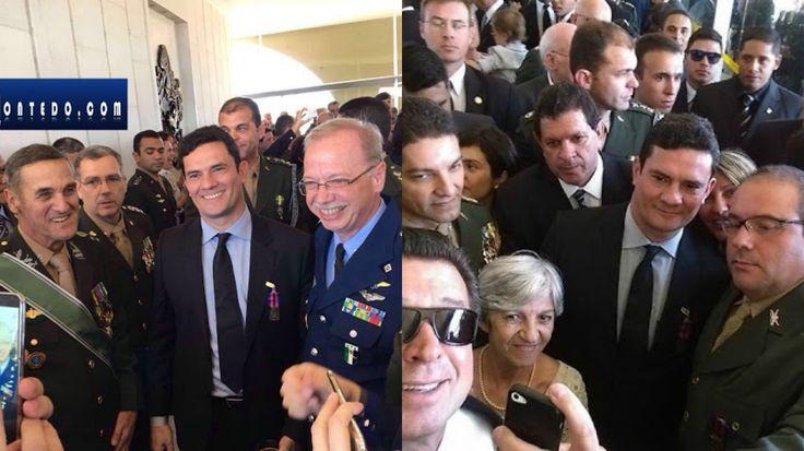 Militares já escolheram quem vai salvar o Brasil: Sérgio Moro