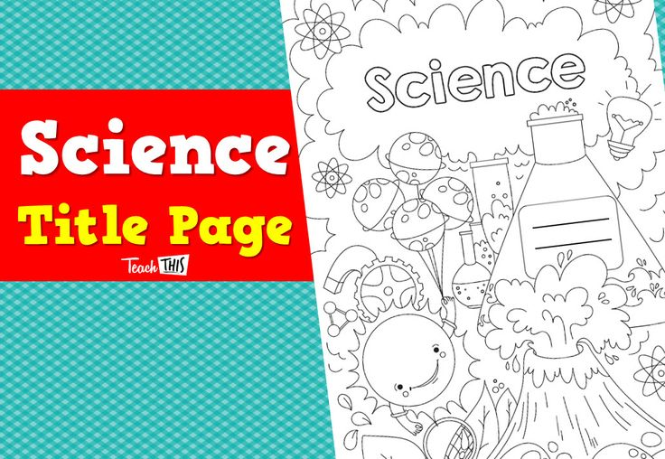 science title page