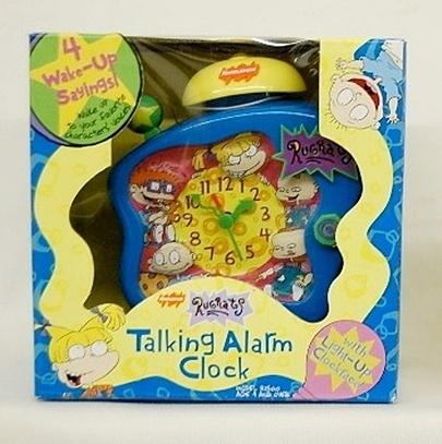 Rugrats Talking Alarm ClockAlarm Clocks, Rugrats Talk, Talk Alarm