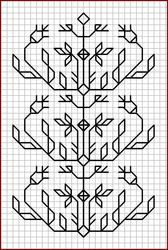 Blackwork Pattern