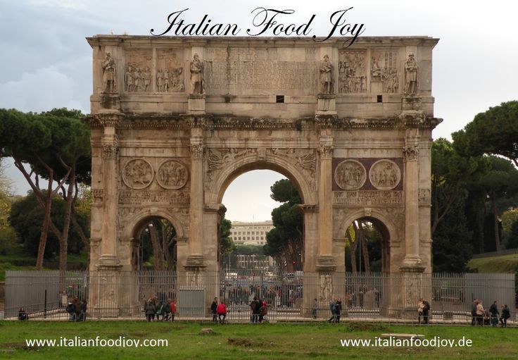 #Arco di #Augusto #Rome One of the best cities where you can eat #Pasta alla #carbonara and #Bucatini #Amatriciana Excellent for #Italian #Food Joy www.italianfoodjoy.de fur AT und DE www.italianfoodjoy.com for EU countries