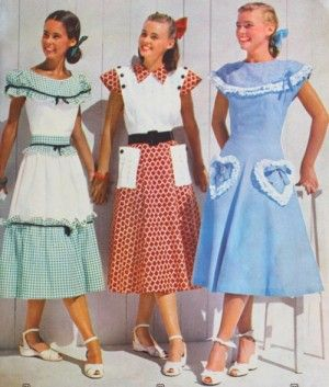 1940s Teenage Fashion Girls Teen 1940s And Vintage
