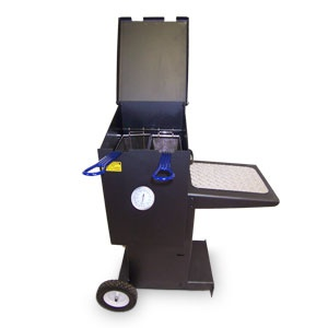 Be the Queen of the Tailgate scene with our new mobile outdoor fryer, only $364.99