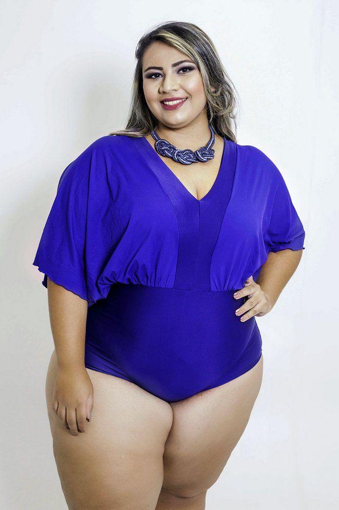 a0fd977e60 Body Mangas Azul Marinho Plus Size - Somosplus