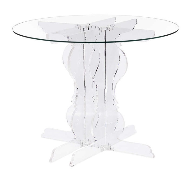 Baroque Round Table - ClearBaroque Round Table