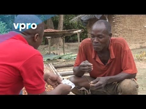 ▶ Ivorian cocoa bean growers have their first taste of chocolate
