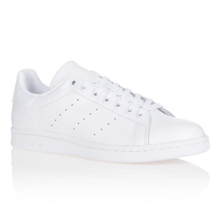 ADIDAS ORIGINALS Baskets STAN SMITH - Mixte - Blanc | Will ...