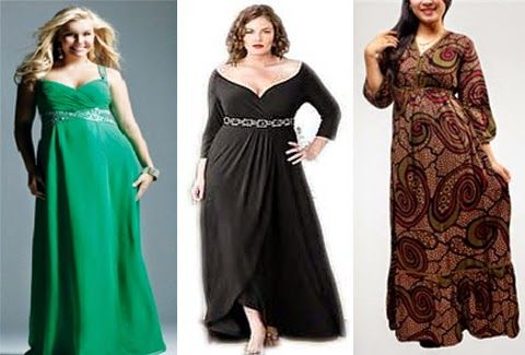 Long dress untuk orang gemuk main