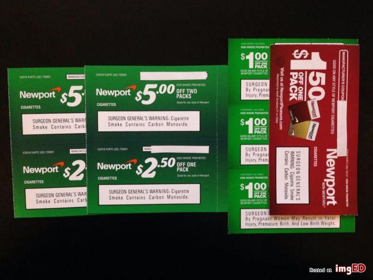 Newport cigarettes coupons 4 5 off 2 packs 4 250